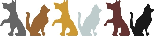 Cat And Dog clip art