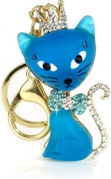 cat key ring keychain