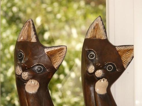 cat wood cat fig