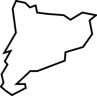Catalunya clip art