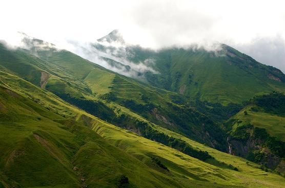 caucasian landscapes