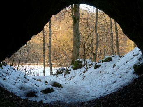cave cave entrance caves portal