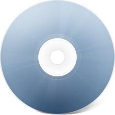 CD avant bleu