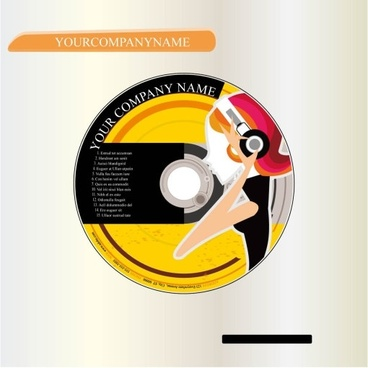 cd cover vector