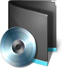 CD ROM folder