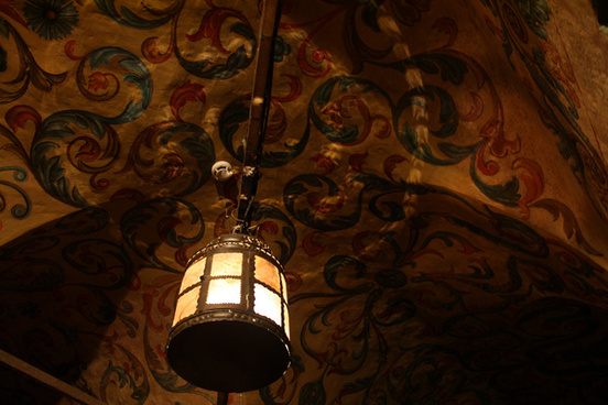 ceiling light and shadow