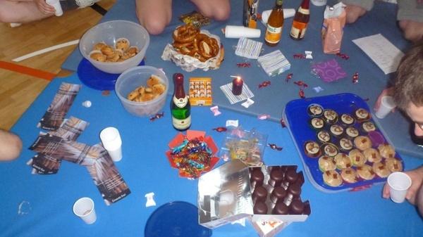 celebration party eat