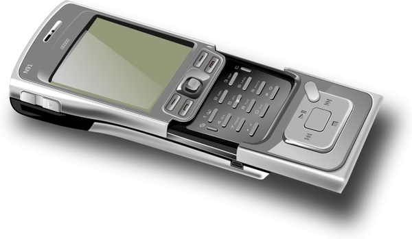 Cell phone - open