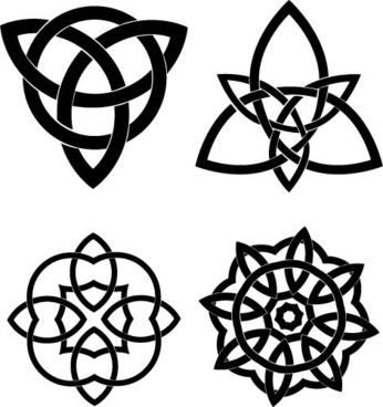 Celtic Knots Vector Set