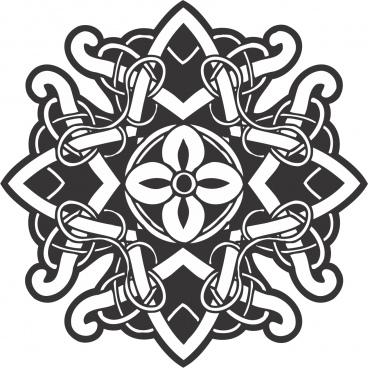 celtic ornament decoration free vectors art