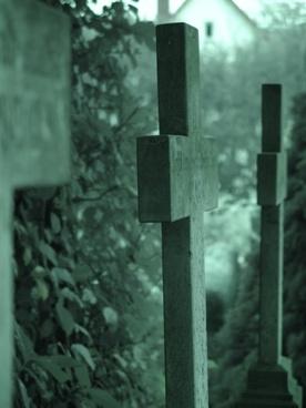 cemetery death crosses