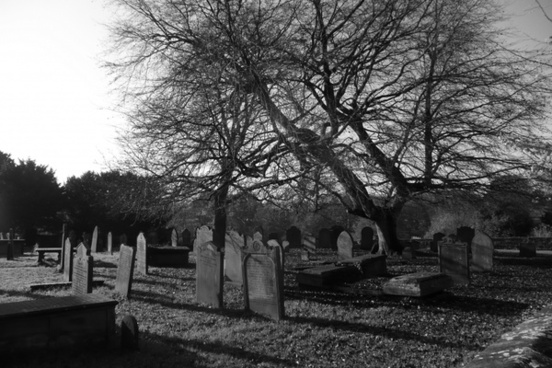 cemetery graveyard churchyard