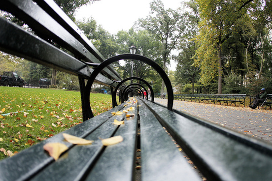 central park benches