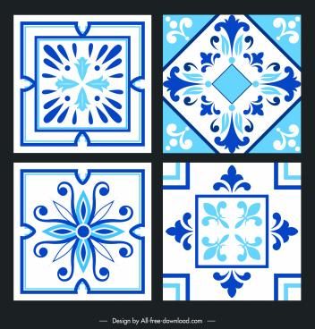 ceramic tile design elements elegant classical symmetry