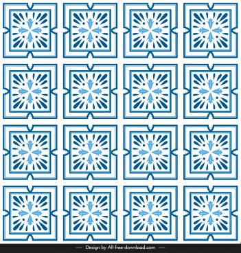 ceramic tile pattern repeating geometric symmetry