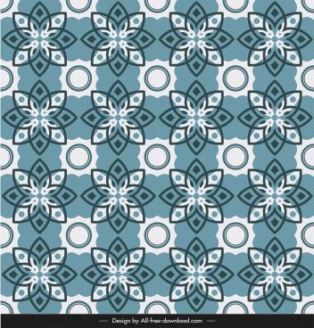 ceramic tile pattern template illusion repeating symmetric floras
