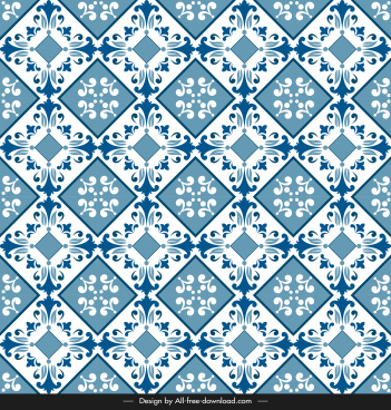 ceramic tile pattern template repeating symmetrical elegance