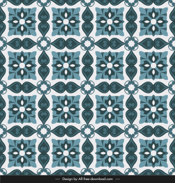 ceramic tile pattern template symmetric retro contrast repeating