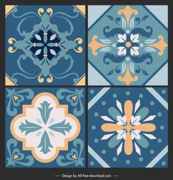 ceramic tile pattern templates elegant classical symmetric shaped