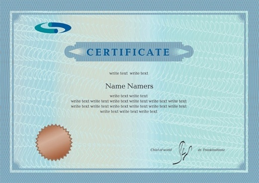 Certificate free vector download (834 Free vector) for commercial ...