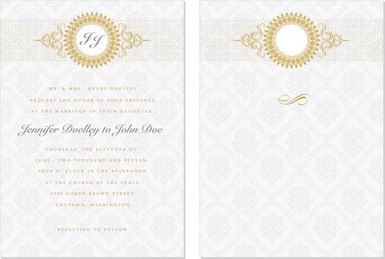 certificate template elegant classic repeating pattern symmetric decor