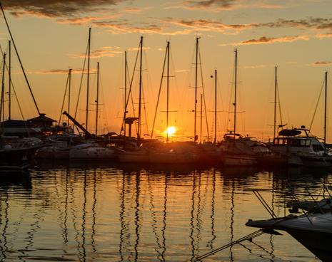 cervara sunset