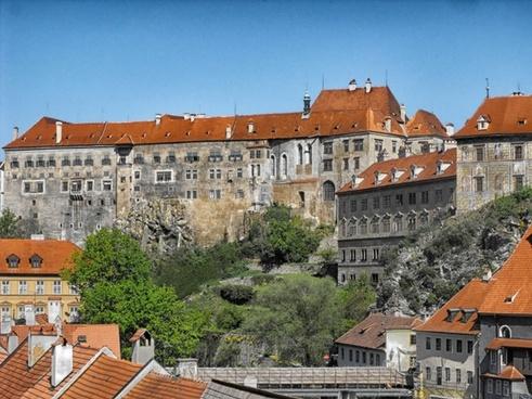 cesky krumlov czech republic city