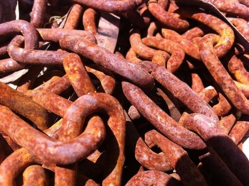 chain chains iron