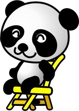 chair,panda