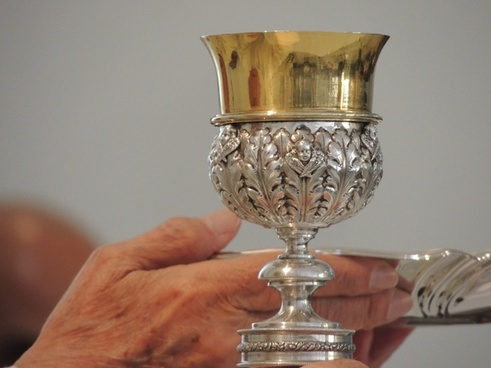 chalice church hand