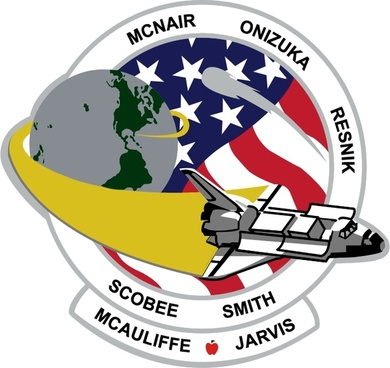 challenger mission patch