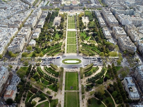 champ de mars paris garden
