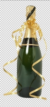 champagne psd