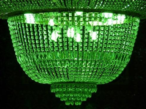 chandelier crystal glass