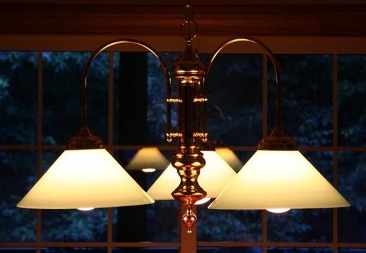 chandelier light illuminate