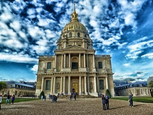 chapel of saint-lous-des-invalides paris france