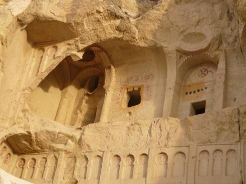 chapels monasteries volcanic rocks
