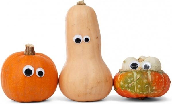 character pumpkin white