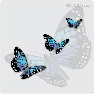 charming butterflies with butterfly background vector graphics