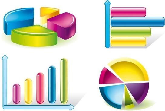 chart stock 02 vector