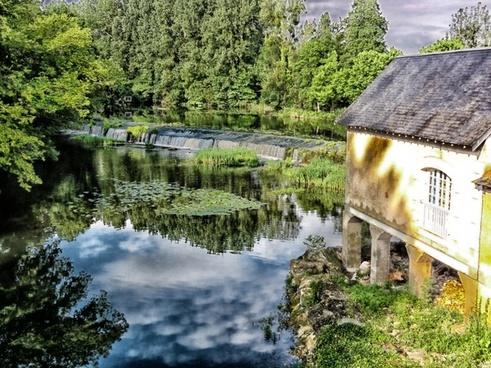 chasseneuil-du-poitou france mill