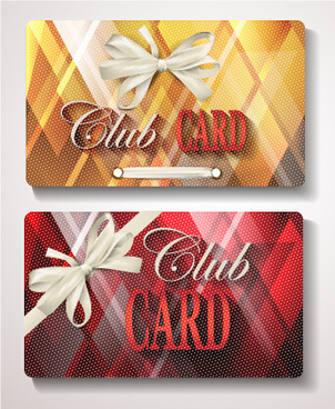 checkered club cards design vector