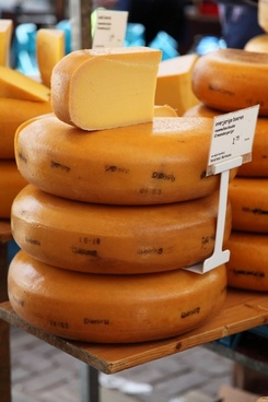 cheese on market