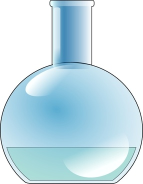 Chemistry Lab Flask clip art
