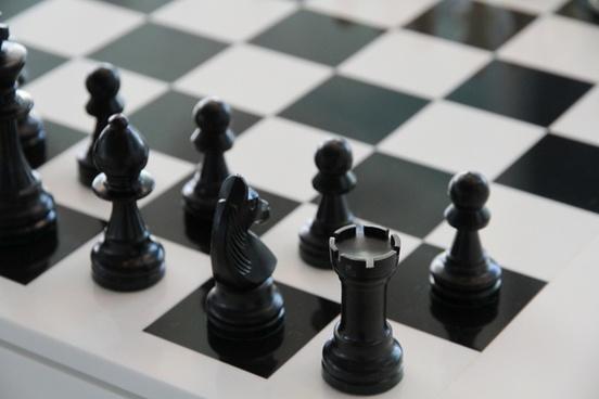 chess chess board black
