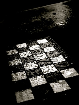 chess chess board rain