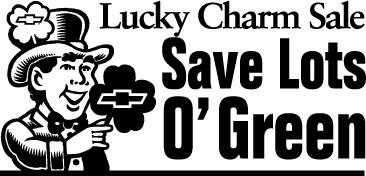 Chevrolet Lucky Charm Sale