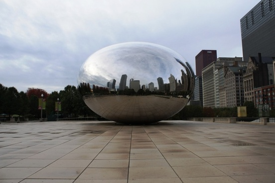 chicago bean daylight skyscraper