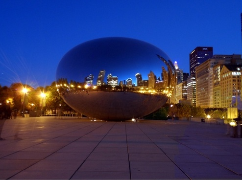 chicago bean night