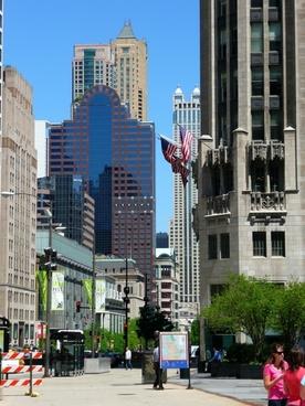 chicago downtown illinois